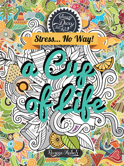 coloring diary for adult a cup of life hc kubusmedia